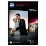 HP Papier photo 25 feuilles Premium Plus DIN A6