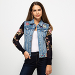 Desigual Gilet en jean court 44 femme