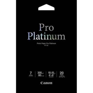Canon Pro Platinum Photo Paper 10x15cm Pt-101