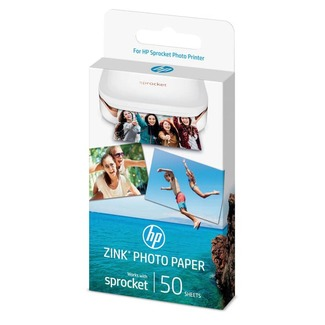 Papier Photo à dos adhésif HP ZINK®, 50 feuilles, 5 x 7,6 cm