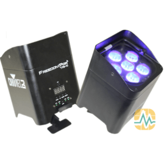 Chauvet Freedom PAR Tri-6 LED Projecteur à LED (Noir)