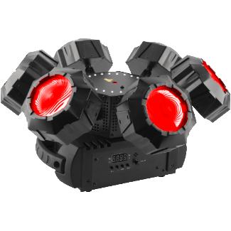 Chauvet Helicopter Q6 LED Effet lumière (Noir)