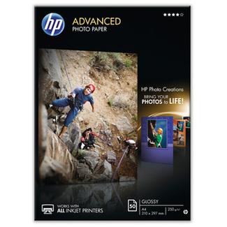 Papier photo HP Advanced à finition brillante (50 feuilles A4 - 210x297mm)