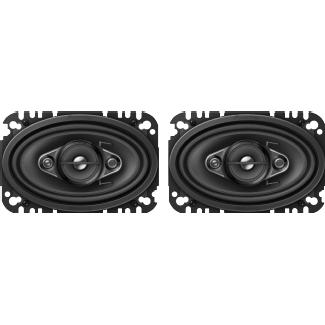 Pioneer Ts-A4670F Haut-parleurs de voiture (Noir)