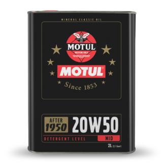 Huile Moteur Motul Classic Oil 20W50 2L