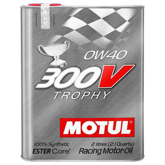 Huile Moteur Motul 300V 0W40 Trophy 2L