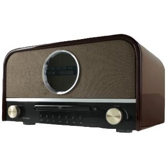 Soundmaster Nr850, brun Radio Dab+ (Bois)