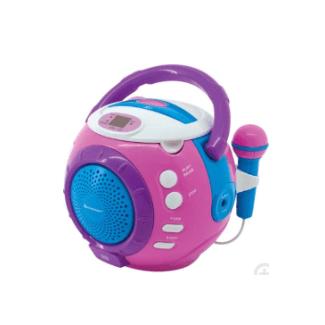 Soundmaster Kcd1600Pi - Enregistreur radio (Rose)