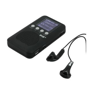 Soundmaster Dab170Sw Mini - Radio de poche (Noir)