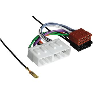 Hama 00043688 Adaptateur Voiture ISO (Multicolore)