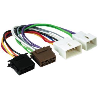 Hama 00043696 Adaptateur Voiture ISO (Multicolore)