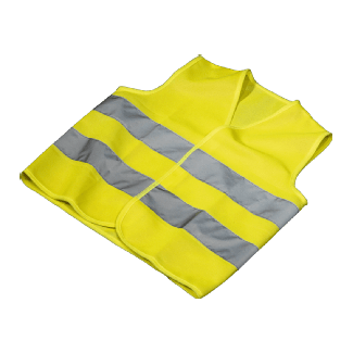 Hama Automotive Gilet de sécurité (Jaune fluo)