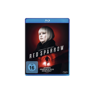 RED Sparrow Thriller Blu-ray