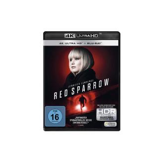 RED Sparrow 4K Thriller 4K Ultra HD Blu-ray + Blu-ray