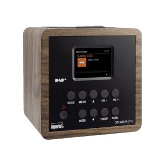 Imperial Dabman D10 - Radio-réveil (Optique bois)