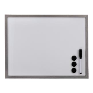Hama Tableau blanc, 30 x 40 cm, argent