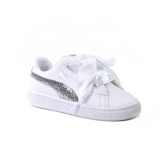 Puma Basket Hearth Bling Inf Taille 27   Enfants