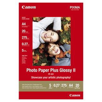 Canon Papier photo, 20 feuilles Plus PP201A4 DIN A4