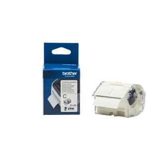 Brother Ck-1000 Reinigungsetikette 50Mm Étiquettes de nettoyage (Blanc)