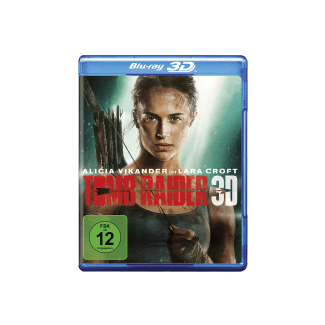 Tomb Raider 2018 3D Action Blu-ray 3D