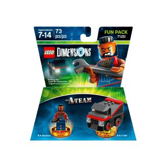WB Interactive Entertainment Dimensions Fun Pack A-Team Figurines de jeu