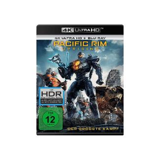 Pacific RIM 2 4K-Uprising Action 4K Ultra HD Blu-ray + Blu-ray