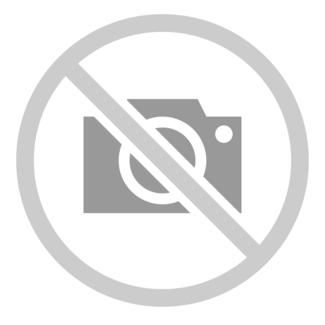 Écharpe - 100% laine - maille côtelée - noir - 200 x 26 cm
