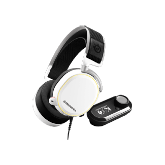 Steelseries Arctis Pro + GameDAC Casque de jeu (Blanc)