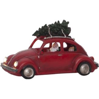 Star Trading Merryville LED chiffre de Noël (Rouge)