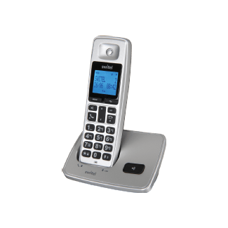 Switel Dc2000 Téléphone sans fil (Argent)