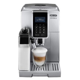 Machine à café Delonghi 350.75.S avec écran intuitif et boutons tactiles.