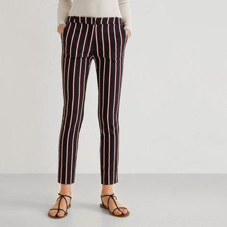 Mango Pantalon long, Skinny Fit 40 femme
