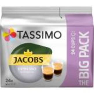 Tassimo Jacobs Espresso Ristretto The Big Pack Capsules de café