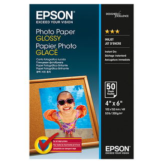 Epson Papier photo 50 feuilles S042547 DIN A6