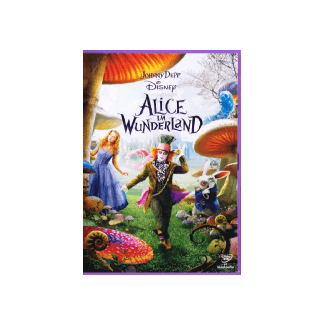 Alice IM Wunderland Famille DVD