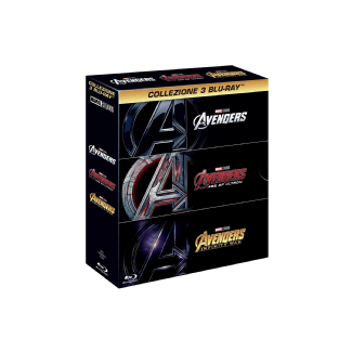 Avengers 1-3 Limited Edition Action Blu-ray