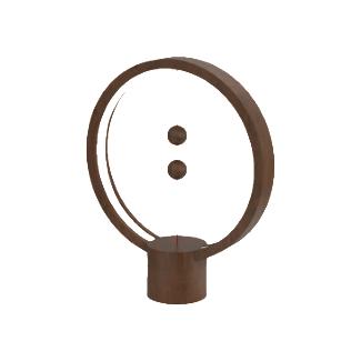 Allocacoc Heng Balance Round Lampe LED (Marron foncé)