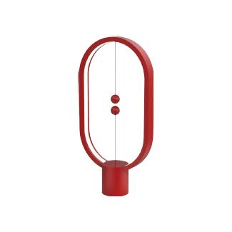 Allocacoc Heng Balance Ellipse Lampe LED (Rouge)