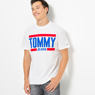 Tommy Jeans T-shirt, Body Fit, manches courtes S homme