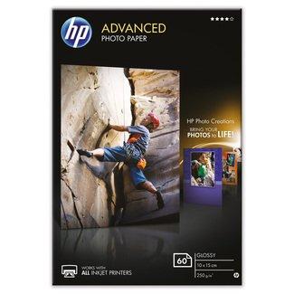 Papier photo HP Advanced à finition brillante sans bordure (60feuilles, 10x15 cm)